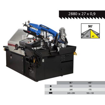 PILOUS ARG260 CF-NC automata szalagfűrészgép