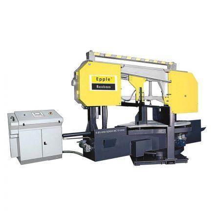 EPPLE E-BSP 650 D GH NC vezérelt automata szalagfűrészgép, vágási kapacítás 1000x600mm